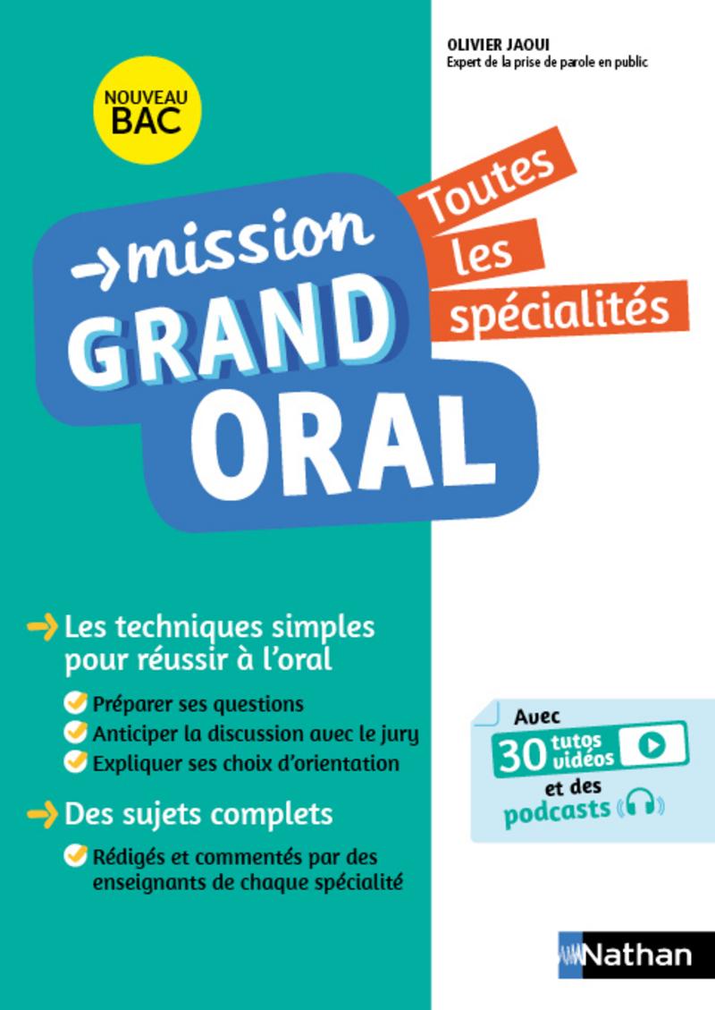 Bac 2021 Et Grand Oral 6 Guides Nathan Pour Assurer Vivreaulycee
